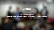 Les Ateliers du Mondial 2012 - Innovation et compétitivité dans l'automobile