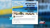 """La journée """"Tel Aviv sur Seine"""" dans le cadre de Paris Plages déchaîne les passions"""