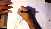 Speed Drawing! Cowboy Bebop - Spike Spiegel!