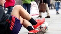 SkillTwins EXTREME Street Football_Freestyle_Panna Skills