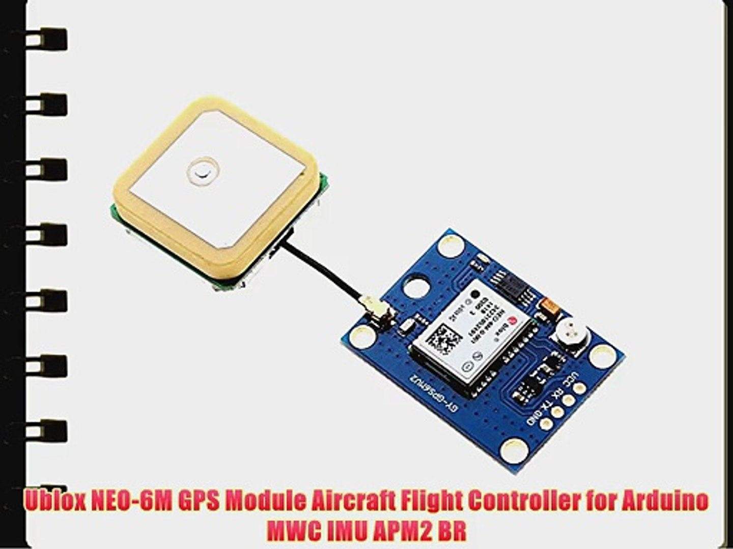 Ublox NEO-6M GPS Module Aircraft Flight Controller for Arduino MWC IMU APM2  BR