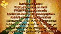 TEKKEN 6 - PPSSPP FULL SPEED SETTINGS / Configuration (PC, Android