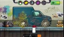Cartoon about Car Wash | Tegneserie om bilvask | Dessin animé sur lavage de voiture