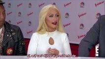 Christina Aguilera - Entrevista E! The Voice 8 Top 10 (Subtítulos español)