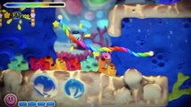 Kirby and the Rainbow Curse off-screen gameplay and preview - E3 2014