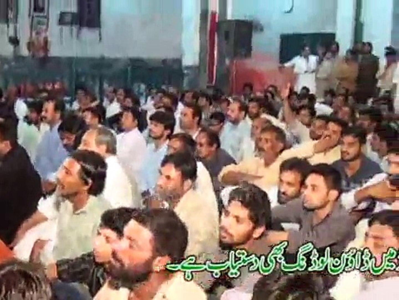 Zakir Mushtaq Hussain Shah Majlis 9 May 2015 Jalsa Zakir Muntazir Mehdi