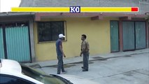 street fighter CHIMALHUACAN VERSION || pelea de borrachos