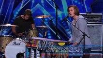 "3 Shades of Blue: Pop Rock Band Covers Nina Simone's ""Feeling Good"" - America's Got Talent 2015"
