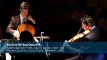 Shostakovich - Quartet No. 8, Op. 110, Mvt. 2 - Escher String Quartet - CMS