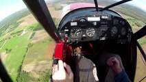 Tail Dragger check ride - Mastering the dying art - Flying - POV