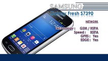 Galaxy Fresh S7390 | Samsung Galaxy Mobile Phone Specifications | Brands & Features List