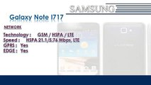 Galaxy Note I717 | Samsung Galaxy Mobile Phone Specifications | Brands & Features List