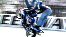 BEST EXTREME MOTORBIKE STUNTS: DOUBLE BACK FLIP, FRONT FLIP, FREESTYLE IN SLOW MOTION
