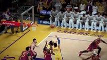 NBA 2K15 PS4 1080p HD Los Angeles Lakers-Cleveland Cavaliers Mejores jugadas