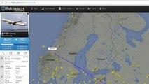 Chemtrails, Emirates UAE203, Etihad airways ETD151, Trondheim Norway, July 12 2015