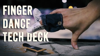 Finger Dance and Tech Deck at the Skate Park