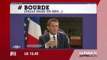 Best-of des bourdes de Manuel Valls - Zapping du 10 août