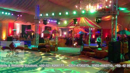 VIP Mehndi DHA, a2z Events Solutions One and Only weddings Planners in Lahore Pakistan, Pakistan's best weddings Planners, Decorators and Caterers In Lahore, Best weddings designers in Lahore Pakistan, Best Weddings Decorators in Pakistan, Best weddings F