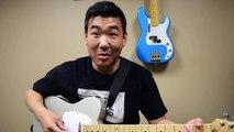 "COS Lead Guitar Tutorial for ""King of My Soul"" by Matt Redman"