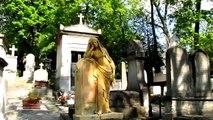 Visite du cimetière du Père-Lachaise sur TV28 (extrait).