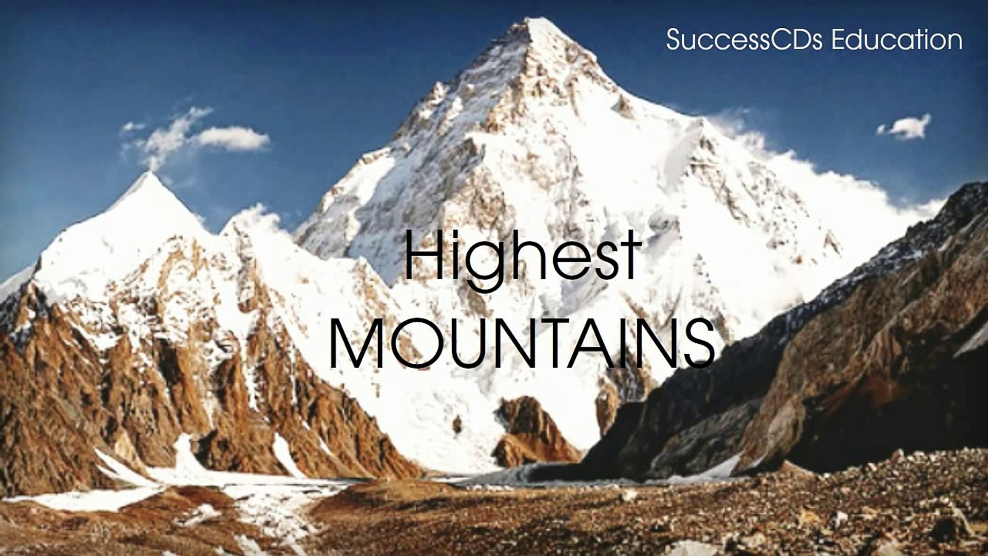 10 Highest Mountains in the World  General Knowledge