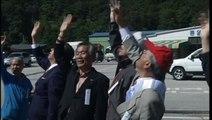 North korea threats, helium balloons with anti north korea leaflets launch in south korea