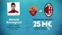 Officiel : Romagnoli signe au Milan !