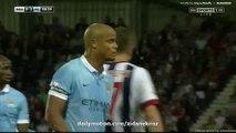 0-3 Vincent Kompany Goal HD _ West Bromwich Albion v. Manchester City - EPL 10.08.2015 HD