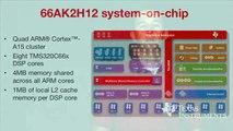 A better way to cloud: 66AK2Hx and AM5K2Ex KeyStone SoCs