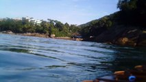 Rumo ao  Arquipélago de Marcellus, Ubatuba, SP, Brasil