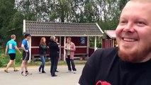 Lappila-TV II. Lappilan viestimaratoonin lähtö 11.8.2012, haastattelussa Alan Mesta