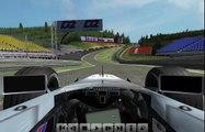F1 challenge 99 02 hotlap Mika Hakkinen with Mclaren mp4/14 on Belgium