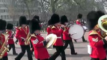 Changing of the Guard:  Band of the Grenadier Guards, April 8, 2015