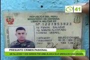 Un fallecido y 2 heridos en presunto crimen pasional - Trujillo
