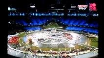 Delegacion de Ecuador desfilando en Ignaguracion de las Olimpiadas Londres 2012 !