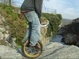 Résumé d'une session de monocycle