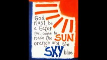 Gators Juke Box The Orange and Blue 1976 Gator Band