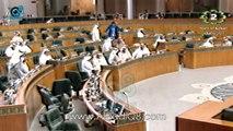 سجال بين وزير المواصلات عيسى الكندري و جمال العمر عن إقرار قانون هيئة الإتصالات 5-3-2014