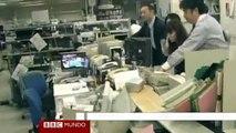 Primeras imágenes del terremoto en Japón