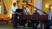 Love Is Here To Stay performed by Steve Schmidt, piano and Steve Samyn, bass in Cincinnati in 2015