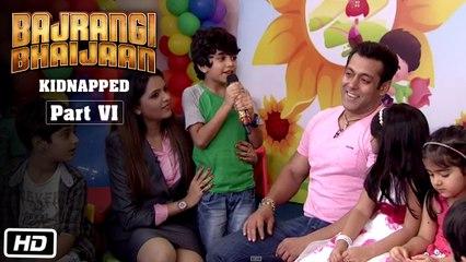 Bajrangi Bhaijaan Kidnapped - Part VI | Mimicry session with Salman Khan