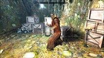 Skyrim-Dragonborn: Master Neloth screws up a spell.