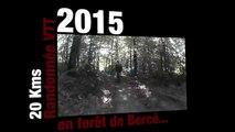Petite randonnée VTT de 20 kms en forêt de bercé...