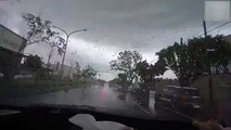 Watch What Happened With This Moving Car in Seconds, Really Shocking
