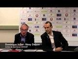 Conférence de presse - Arrivée de J.D. Choulet