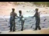 Female soldier throws grenade not far enough