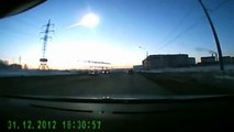 Russian meteor: Amazing video of explosion as seen by drivers in Urals region