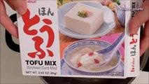 How to make tofu dessert in ginger syrup - Tàu hũ nước đường / đậu hũ / tào phớ