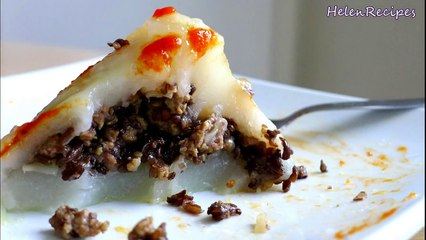 Vietnamese Rice Pyramid Dumplings Recipe - Bánh Giò