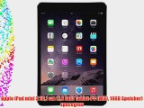 Apple iPad mini 3 201 cm (79 Zoll) Tablet-PC (WiFi 16GB Speicher) spacegrau